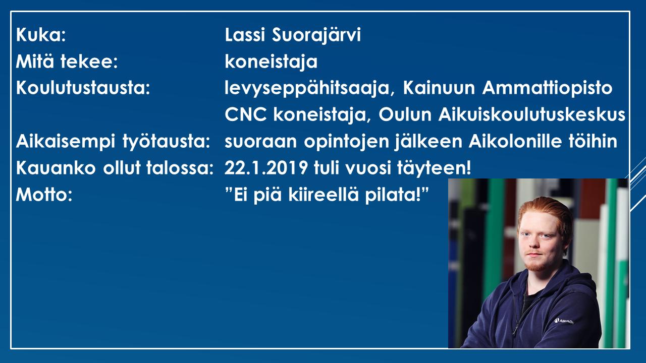 Lassi Suorajärvi