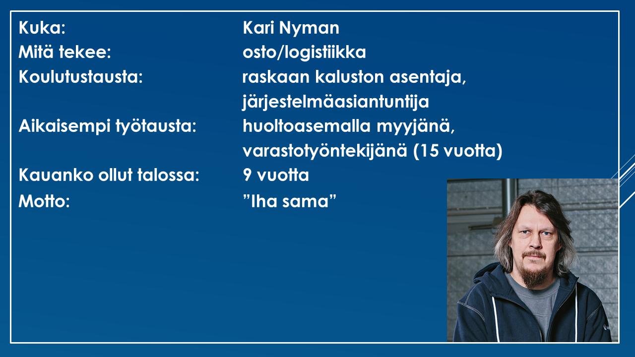Faktalaatikko - Kari Nyman