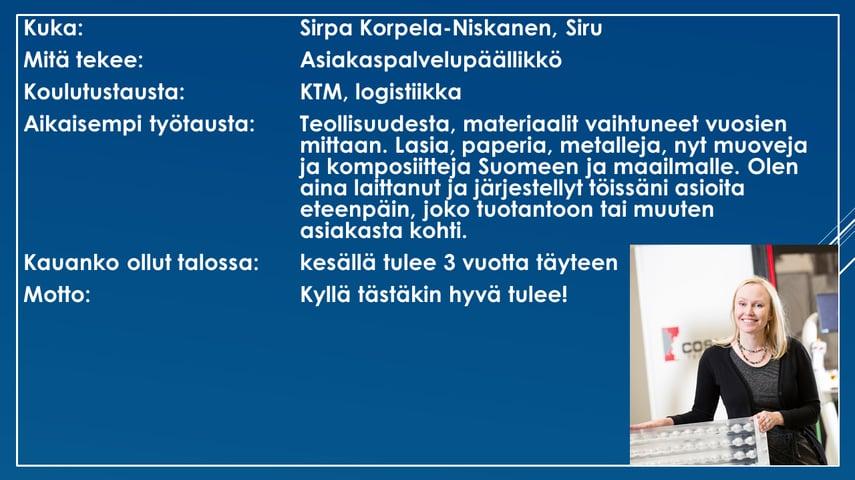 Faktalaatikko - Sirpa Korpela-Niskanen-1