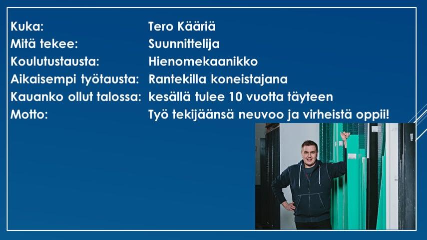 Faktalaatikko - Tero Kääriä