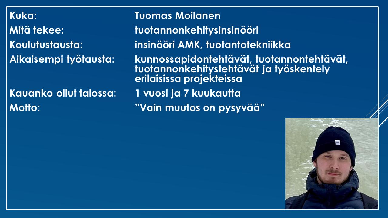 Faktalaatikko - Tuomas Moilanen
