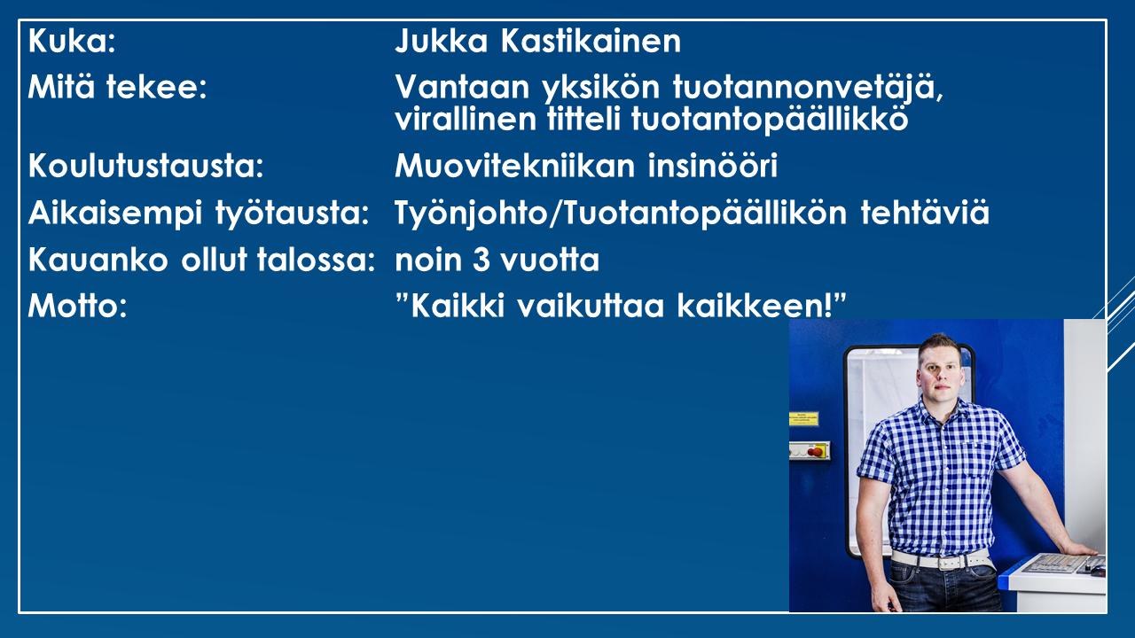 Faktalaatikko - Jukka Kastikainen