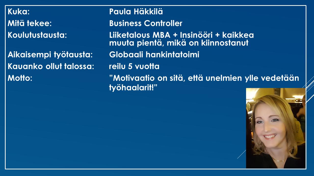 Faktalaatikko - Paula Häkkilä